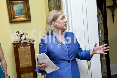 Sen. Mary Landrieu. Photo by Tony Powell. CCAI Foster Youth Internship Luncheon. Residence of Senator Mary Landrieu. June 12, 2013