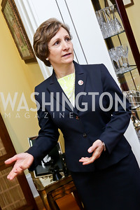 Rep. Suzanne Bonamici. Photo by Tony Powell. CCAI Foster Youth Internship Luncheon. Residence of Senator Mary Landrieu. June 12, 2013