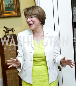 Sen. Amy Klobuchar. Photo by Tony Powell. CCAI Foster Youth Internship Luncheon. Residence of Senator Mary Landrieu. June 12, 2013