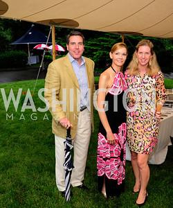 Jon Wise,Jill Bruno,Anne Wise,June 6,2013,Country BBQ to benefit Chidren's Speech and Hearing Center At Villa Firenze,Kyle Samperton