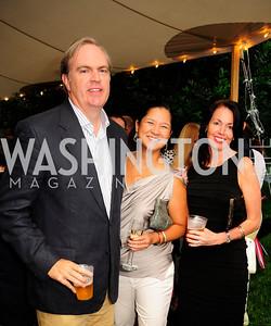 Al Troup,Trish Yan ,Kerry Troup,June 6,2013,Country BBQ to benefit Chidren's Speech and Hearing Center At Villa Firenze,Kyle Samperton