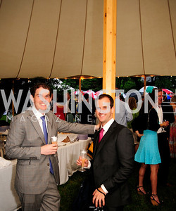 Adam Stoffel,Kevin Comerford,June 6,2013,Country BBQ to benefit Chidren's Speech and Hearing Center At Villa Firenze,Kyle Samperton