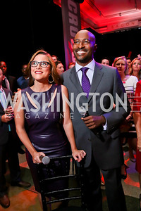 Van Jones, S.E. Cupp. Photo by Tony Powell. Crossfire Returns. Carnegie Library. September 10, 2013