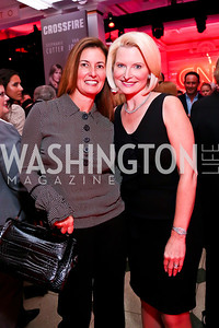 Diane Ray Brown, Callista Gingrich. Photo by Tony Powell. Crossfire Returns. Carnegie Library. September 10, 2013