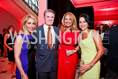 Dana Bash, Jack Quinn, Rebecca Cooper, Susan Toffler. Photo by Tony Powell. Crossfire Returns. Carnegie Library. September 10, 2013