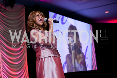 Jennifer Holliday. Photo by Tony Powell. 2013 Crystal Heart Awards. Marriott Inn and Conference Center. December 6, 2013