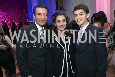 Hamid Fallahi, Tamara Darvish, Nima Fallahi. DC-CAPital Stars Talent Competition at Kennedy Center Eisenhower Theatre. Kennedy Center Eisenhower Theater. March 27, 2013