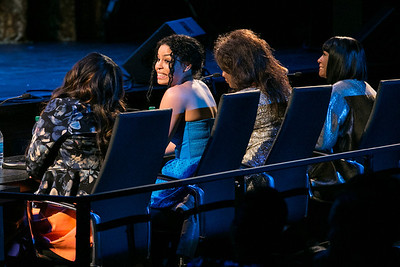 Amber Riley, Jordin Sparks, Denyce Graves, Patti LaBelle. DC-CAPital Stars Talent Competition at Kennedy Center Eisenhower Theatre. Kennedy Center Eisenhower Theater.CR2