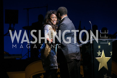 Denyce Graves, Leon Harris. DC-CAPital Stars Talent Competition at Kennedy Center Eisenhower Theatre. Kennedy Center Eisenhower Theater.CR2