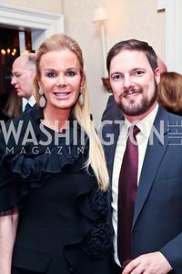 Susanna Quinn, Mike Sozan. Photo by Tony Powell. Bradley Inauguration Dinner. January 20, 2013