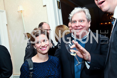 Giovanna Gray, Joe Lockhart. Photo by Tony Powell. Bradley Inauguration Dinner. January 20, 2013