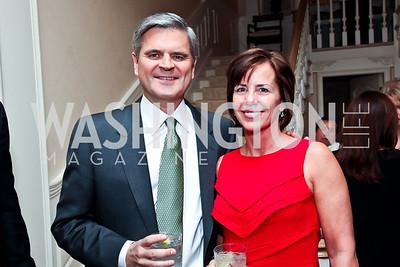 Steve and Jean Case. Photo by Tony Powell. Bradley Inauguration Dinner. January 20, 2013