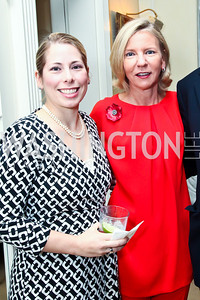 Christina Pearson, Elizabeth Baker Keffer. Photo by Tony Powell. Bradley Inauguration Dinner. January 20, 2013