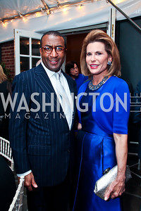 Eric Motley, Nancy Brinker. Photo by Tony Powell. Bradley Inauguration Dinner. January 20, 2013