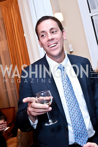 Jim VandeHei. Photo by Tony Powell. Dinner for Christine Lagarde at the residence of the Lebanese Ambassador. December 19, 2013