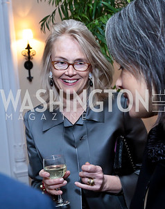 Jennifer Isham. Photo by Tony Powell. Dinner for Christine Lagarde at the residence of the Lebanese Ambassador. December 19, 2013