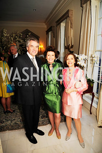United Kingdom Amb.Peter Westmacott,Gabrielle Bekink,Lady Westmacott,April 29,2013,Dinner at The Residence of The Ambassador of The Netherlands on the eve of The Investiture of King Willem-Alexander,Kyle Samperton
