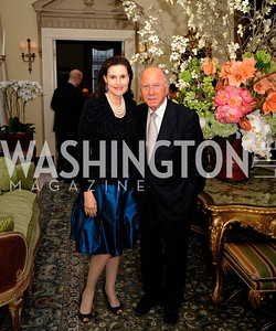 Alexandra de Borchgrave,Arnaud de Borchgrave,April 29,2013,Dinner at The Residence of The Ambassador of The Netherlands on the eve of The Investiture of King Willem-Alexander,Kyle Samperton