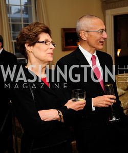 Mary Podesta,John Podesta,April 29,2013,Dinner at The Residence of The Ambassador of The Netherlands on the eve of The Investiture of King Willem-Alexander,Kyle Samperton