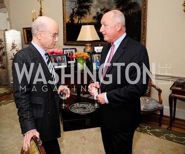 William Nitze,Pete Hoekstra,April 29,2013,Dinner at The Residence of The Ambassador of The Netherlands on the eve of The Investiture of King Willem-Alexander,Kyle Samperton