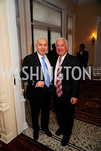 Leb.Amb.Antone Chedid,Rep.Nick Rahall,April 24,2013,A Dinner in Honor of Mrs.Victoria Reggie Kennedy at the Residence of the Ambassador of Lebanon,Kyle Samperton