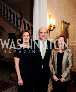 Vicki Kennedy,Rep.James McGovern,Lisa McGovern,April 24,2013,A Dinner in Honor of Mrs.Victoria Reggie Kennedy at the Residence of the Ambassador of Lebanon,Kyle Samperton