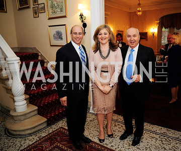 Rep.Charles Boustany,Nicole Chedid,Leb.Amb.Antone Chedid,April 24,2013,A Dinner in Honor of Mrs.Victoria Reggie Kennedy at the Residence of the Ambassador of Lebanon,Kyle Samperton