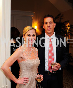 Autumn VandeHei,Jim VandeHei,April 24,2013,A Dinner in Honor of Mrs.Victoria Reggie Kennedy at the Residence of the Ambassador of Lebanon,Kyle Samperton