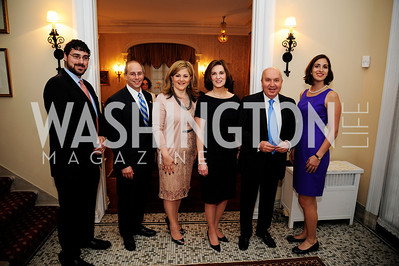 Curren Raclin,Rep.Charles Boustany,Nicole Chedid ,Vicki Kennedy,Leb.Amb.Antone Chedid,Caroline Raclin,April 24,2013,Dinner in Honor of Mrs.Victoria Reggie Kennedy at the Residence of the Ambassador of Lebanon,Kyle Samperton