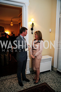 Sec.Shaun Donovan,Nicole Chedid,April 24,2013,A Dinner in Honor of Mrs.Victoria Reggie Kennedy at the Residence of the Ambassador of Lebanon,Kyle Samperton