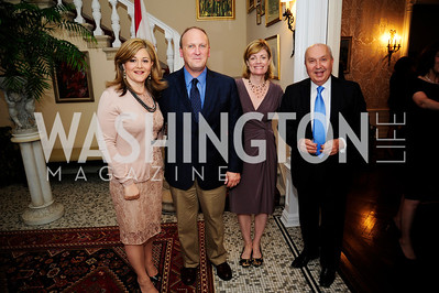 Nicole Chedid,Kevin Sullivan,Mary Jordan,Leb.Amb.Antoine Chedid,April 24,2013,A Dinner in Honor of Mrs.Victoria Reggie Kennedy at the Residence of the Ambassador of Lebanon,Kyle Samperton