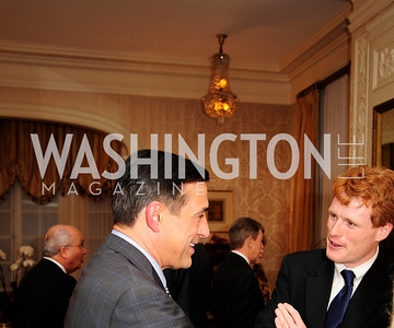 Rep.Darrell Issa,Rep.Joe Kennedy,April 24,2013,A Dinner in Honor of Mrs.Victoria Reggie Kennedy at the Residence of the Ambassador of Lebanon,Kyle Samperton