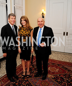Sen.Roy Blunt.Abagail Blunt,Leb.Amb.Antoine Chedid,April 24,2013,A Dinner in Honor of Mrs.Victoria Reggie Kennedy at the Residence of the Ambassador of Lebanon,Kyle Samperton