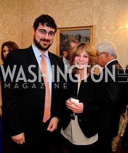 Curren Raclin,Myra Moffett,April 24,2013,A Dinner in Honor of Mrs.Victoria Reggie Kennedy at the Residence of the Ambassador of Lebanon,Kyle Samperton