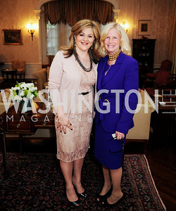 Nicole Chedid,Susan Blumenthal,April 24,2013,A Dinner in Honor of Mrs.Victoria Reggie Kennedy at the Residence of the Ambassador of Lebanon,Kyle Samperton