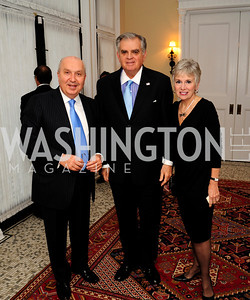 Leb.Amb.Antoine Chedid,Sec.Ray LaHood,Kathy LaHood,April 24,2013,A Dinner in Honor of Mrs.Victoria Reggie Kennedy at the Residence of the Ambassador of Lebanon,Kyle Samperton