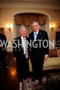 Rep Nick Rahall,Sec.Ray LaHood,April 24,201Dinner in Honor of Mrs.Victoria Reggie Kennedyat the Residence of the Ambassador of Lebanon,Kyle Samperton