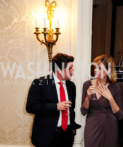 Jeremy Bernard,Mary Jordan,April 24,2013,A Dinner in Honor of Mrs.Victoria Reggie Kennedy at the Residence of the Ambassador of Lebanon,Kyle Samperton