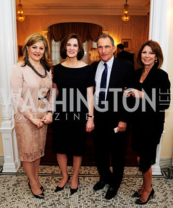 Nicole Chedid, Vicki Kennedy,Steve Engelberg,PamCovington,April 24,2013,A Dinner in Honor of Mrs.Victoria Reggie Kennedy at the Residence of the Ambassador of Lebanon,Kyle Samperton