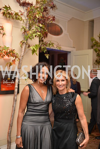 Robynne Chutkan, Elise Museles, Environmental Working Group hosts their 20th Anniversary Gala at the Mandarin Oriental Hotel.  October 24, 2014.  Photo by Ben Droz.