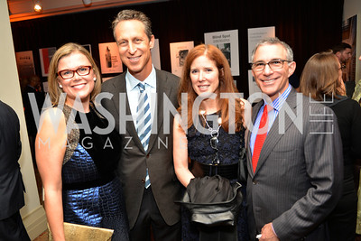 Heather White, Dr. Mark Hyman, Alexis Denny Kaufmann, Steven M. Kaufmann, Environmental Working Group hosts their 20th Anniversary Gala at the Mandarin Oriental Hotel.  October 24, 2014.  Photo by Ben Droz.