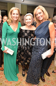 Ami Aronson, Kate Damon, Anita Brickman, Environmental Working Group hosts their 20th Anniversary Gala at the Mandarin Oriental Hotel.  October 24, 2014.  Photo by Ben Droz.