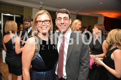 Heather White, David Diamond, Environmental Working Group hosts their 20th Anniversary Gala at the Mandarin Oriental Hotel.  October 24, 2014.  Photo by Ben Droz.