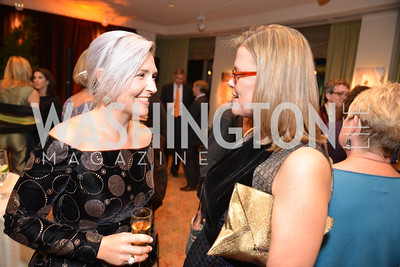 Kate Damon, Heather White , Environmental Working Group hosts their 20th Anniversary Gala at the Mandarin Oriental Hotel.  October 24, 2014.  Photo by Ben Droz.