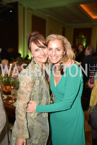 Sarah Ingersoll, Ami Aronson, Environmental Working Group hosts their 20th Anniversary Gala at the Mandarin Oriental Hotel.  October 24, 2014.  Photo by Ben Droz.