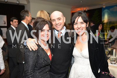 Izette Folger, Max Maccoby, Nora Maccoby Hathaway, Environmental Working Group hosts their 20th Anniversary Gala at the Mandarin Oriental Hotel.  October 24, 2014.  Photo by Ben Droz.