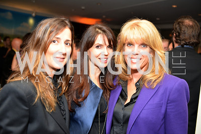 Anna Getty, Nina Montee Karp, Laura Turner Seydel, Environmental Working Group hosts their 20th Anniversary Gala at the Mandarin Oriental Hotel.  October 24, 2014.  Photo by Ben Droz.