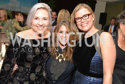 Kate Damon, Nicole Boxer-Keegan, Heather White, Environmental Working Group hosts their 20th Anniversary Gala at the Mandarin Oriental Hotel.  October 24, 2014.  Photo by Ben Droz.