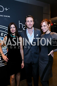 Nina Snow, Phillipe Cousteau, Amanda Polk. Photo by Tony Powell. Earth Echo Expeditions. Newseum. October 10, 2013