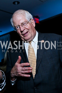 Rep. David Price. Photo by Tony Powell. Earth Echo Expeditions. Newseum. October 10, 2013